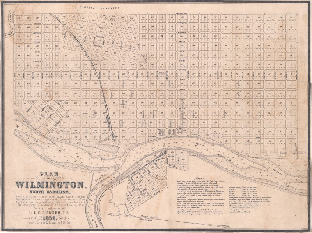 Plan_of_Wilmington_North_Carolina